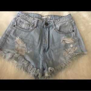 Fashion Nova High Waisted Shorts